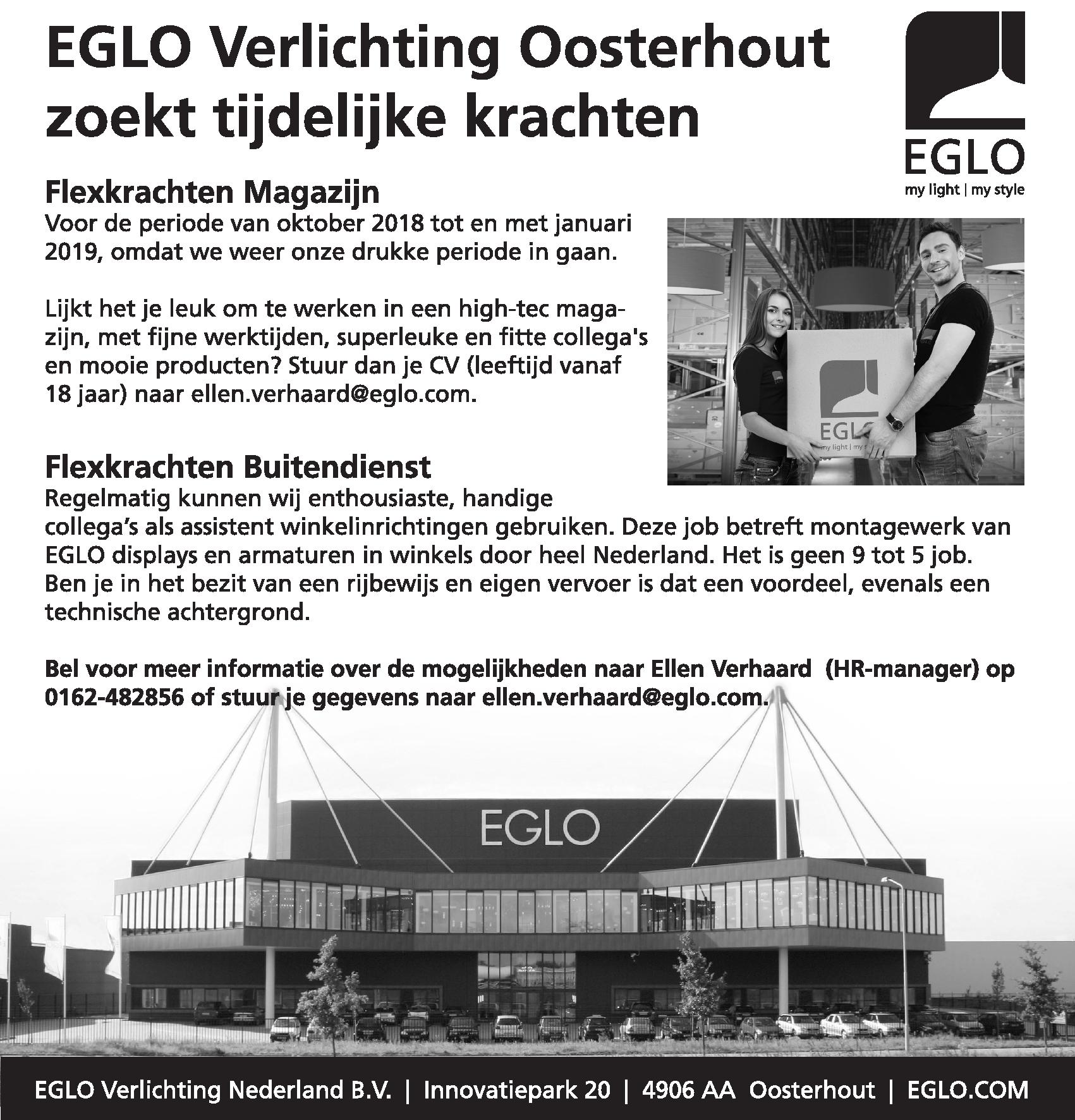Flexkrachten Magazijn en Buitendienst | BrabantWerkt.nl