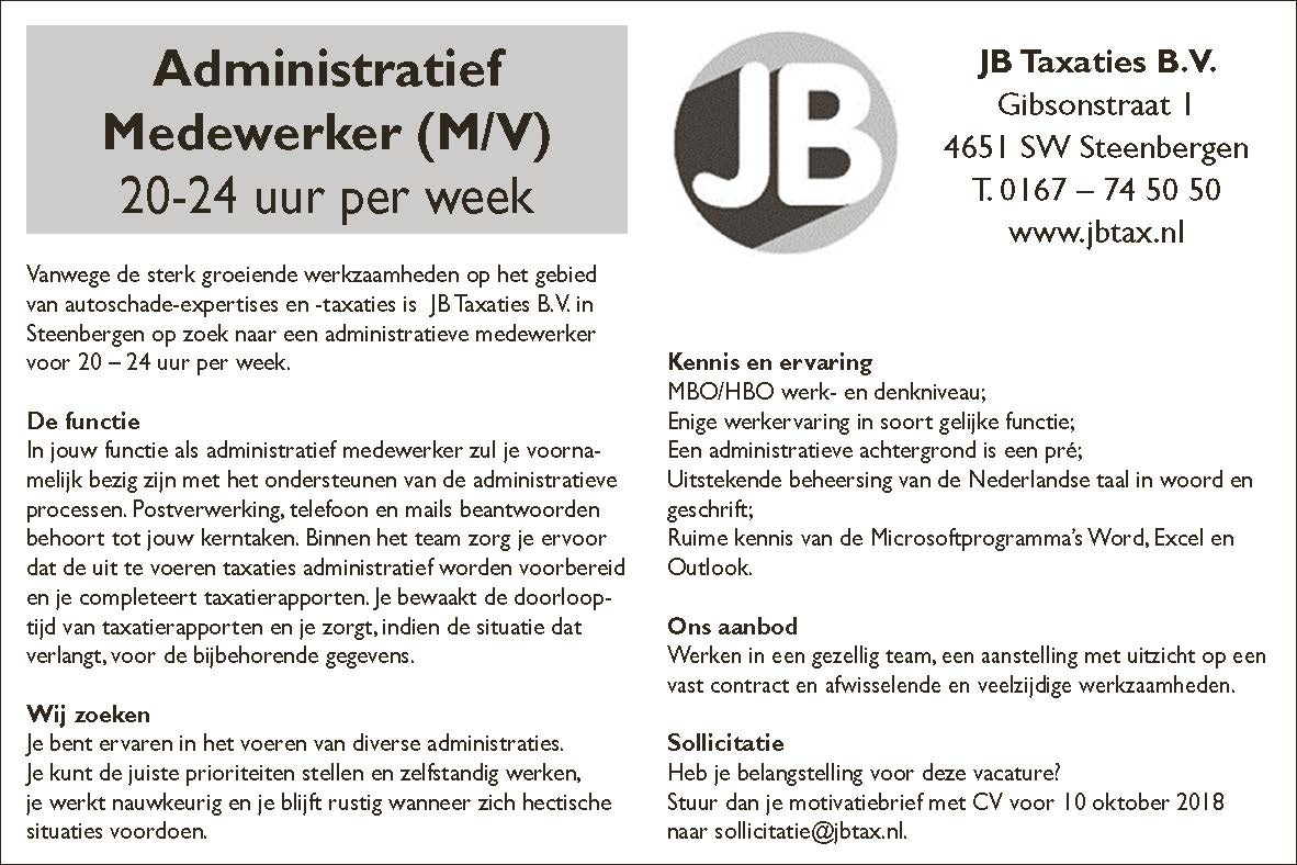 bolw vacatures
