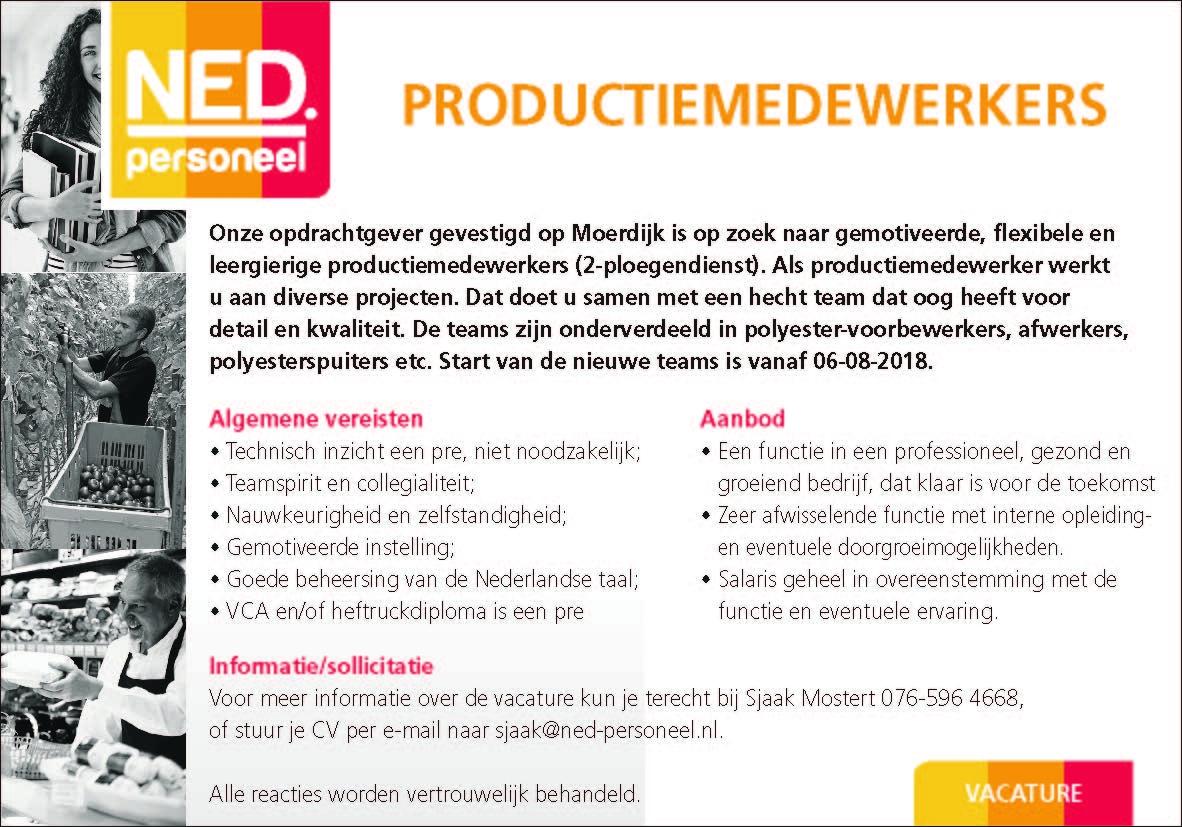Productiemedewerkers Brabantwerktnl